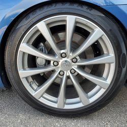 Infiniti G37 sport Wheels Rims 19 Inch for Sale in Riverside,  CA
