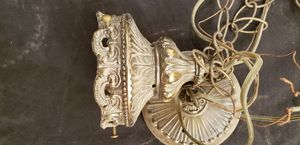 Antique hanging light fixture for Sale in Sacramento, CA
