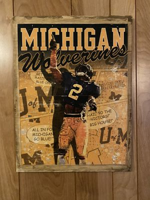 Michigan Wolverines Sign for Sale in Bay City, MI