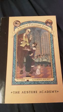 A series of unfortunate events book five smoothcover for Sale in Killeen,  TX