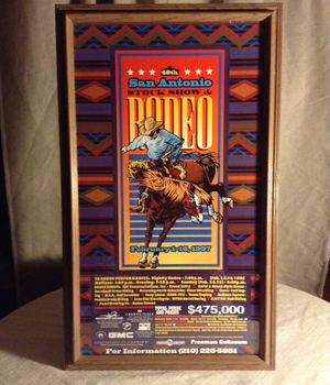 Collectible Poster of 48th San Antonio STOCK SHOW & RODEO for Sale in San Antonio, TX