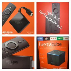 Amazon Fire Tv stick with Alexa for Sale in San Antonio, TX