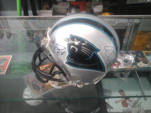 Johnathan Stewart and DeAngelo Williams signed autographed mini helmet for Sale in Charlotte, NC