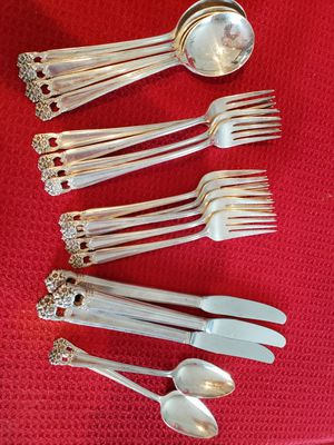Vintage 1847 Rogers Bros Eternally Yours Flatware Silverware for Sale in Haines City, FL