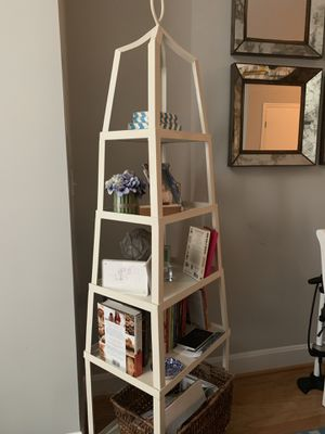 White bookcase/shelving unit for Sale in Bethesda, MD