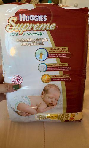 Newborn Diapers Huggies Supreme for Sale in Vista, CA