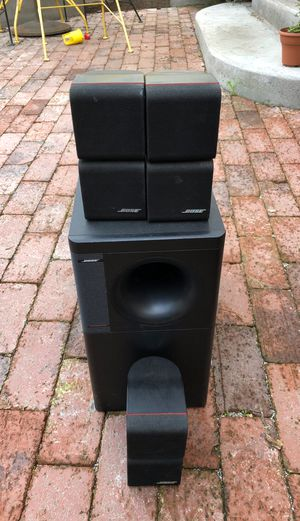 Bose acoustimas 7 5.1 surround sound speakers for Sale in Los Angeles, CA