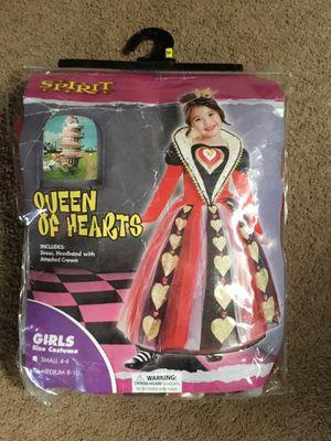 Queen of hearts Halloween costume for Sale in Matlock, WA
