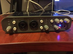 M audio fast track pro audio interface for Sale in Saint Paul, MN