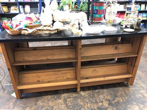 Newly refurbished solid wood tables, shelves, bookcases for Sale in San Diego, CA