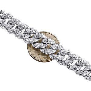 3CT Diamond Cuban Link bracelet for Sale in Tampa, FL