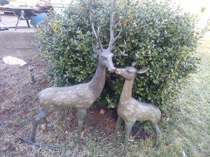 Brass outdoor 70s reindeer for Sale in Braintree, MA