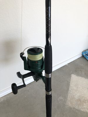 Fishing rod and reel one piece 7' for Sale in Austin, TX