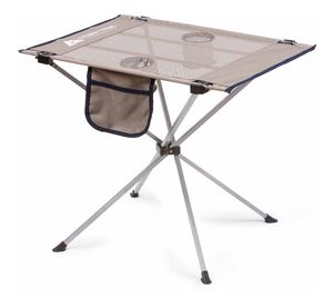 Ozark Trail Small Compact Side Table, Warm Gray A1-33 for Sale in St. Louis, MO