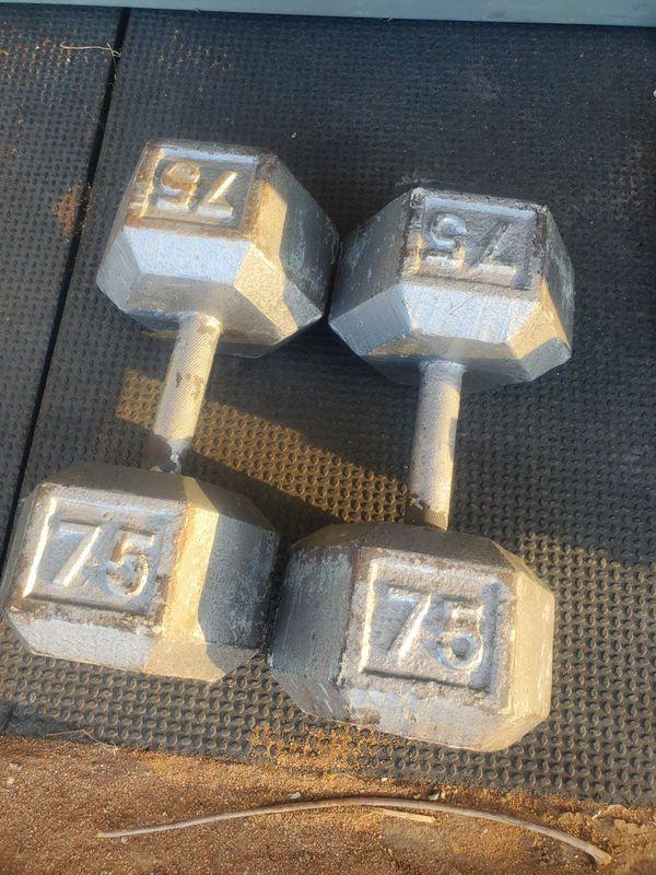 DUMBBELLS WEIGHTS