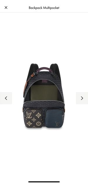 LV BACKPACK MULTIPOCKET Men's 100% authentic for Sale in Garden Grove, CA