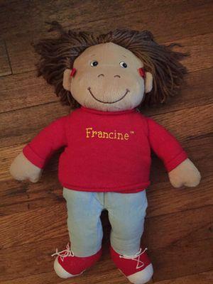 "Vintage Francine Arthur pbs plush 15"" Marc brown for Sale in Elmont, NY"