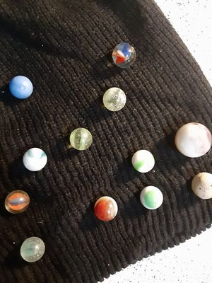 antique glass blown marbles (research) for Sale in San Antonio, TX