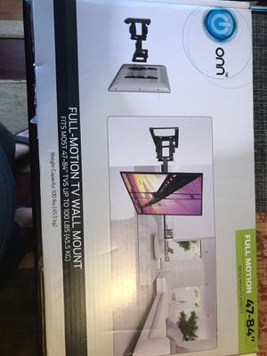 Full motion TV bracket 47 to 84 inches for Sale in Miramar, FL