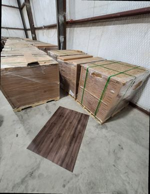Luxury vinyl flooring!!! Only .67 cents a sq ft!! Liquidation close out! FW94 for Sale in Irving, TX