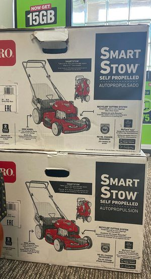 Recycler 22 in. SmartStow High Wheel Variable Speed Walk Behind Gas Self Propelled Mower Brand New for Sale in Arlington, TX