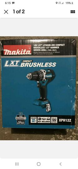 18-Volt LXT Lithium-Ion 1/2 in. Brushless Cordless Hammer Driver-Drill (Tool Only)   for Sale in Independence, MO