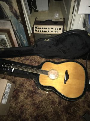 Yamaha. FG. TA. Acoustic electric guitar for Sale in Lynchburg, VA