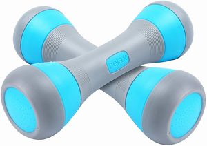 Nice C Adjustable Dumbbell Weight Pair, 5-in-1 Weight Options, Non-Slip Neoprene Hand, All-Purpose, Home, Gym, Office 5 Lbs pair and 11 Lbs pair for Sale in Compton, CA