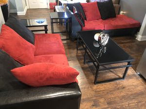 Living room / couches and tables for Sale in Fort Worth, TX