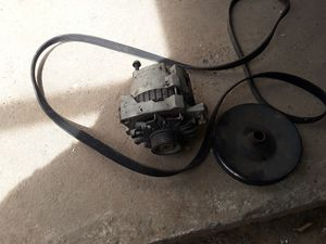 94 Chevy 1500 parts alternator,fans,belts,hoses for Sale in Fresno, CA