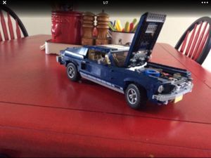 LEGO # 10265 CREATOR EXPERT FORD MUSTANG! Beautiful! Moved and must downsize my collection! Offering a great deal! for Sale in University Place, WA