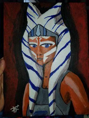 Asoka Star Wars Fan Art/Painting for Sale in NV, US