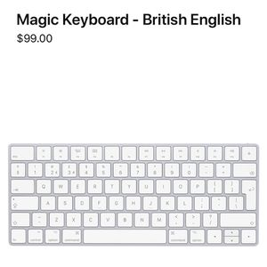 Apple Keyboard, Perfect Condition for Sale in St. Petersburg, FL