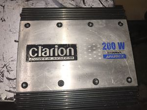 2/1CH CLARION POWER SYSTEM -APX200.2 (200watts) for Sale in Norwalk, CA
