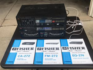 Fisher stereo system for Sale in Aurora, IL