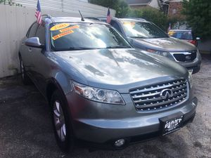 2005 Infiniti FX 35 .lesther Sunroof 136k miles In House Finance Today for Sale in Houston, TX