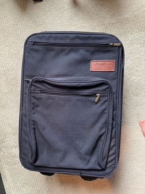Black Eddie Bauer carry-on luggage for Sale in Seattle, WA