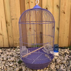 Purple Small Bird Cage Good For A parakeet for Sale in Miami, FL
