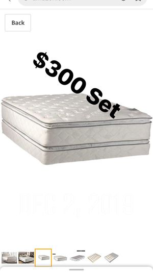 Mattress Set Queen Size Brand New for Sale in Fresno, CA