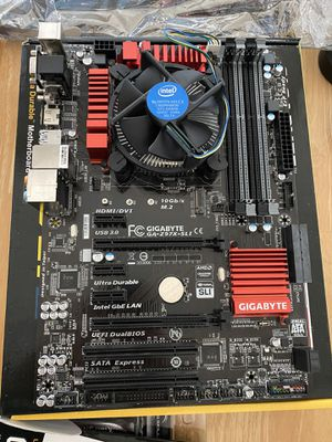 PC parts (motherboard, RAM, CPU) for Sale in Carrollton, TX