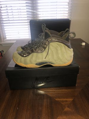 Nike Air Foamposites 1 (Olive) for Sale in Creedmoor, NC