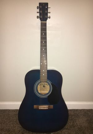 Blue Indiana Acoustic Guitar for Sale in Alexandria, VA