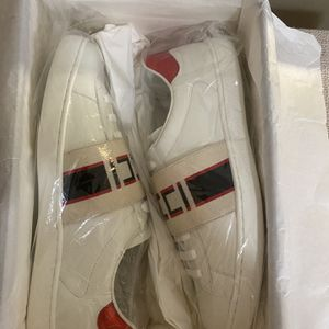 Gucci Ace elastic band sneakers size 9 Us 9.5 for Sale in La Puente, CA