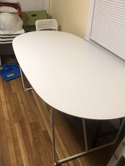White Ikea Table for Sale in Brookline,  MA