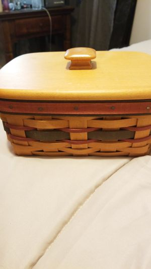 Longaberger address card basket. for Sale in Palmdale, CA
