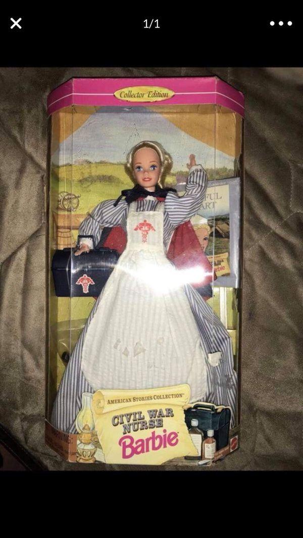 New civil war nurse barbie