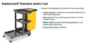 Rubbermaid® Standard Janitor Cart. for Sale in Inglewood, CA