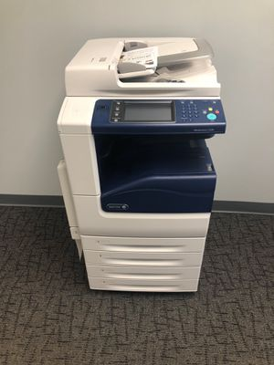 Xerox workcentre 7225 color multifunction network office copier/printer 6k total impressions for Sale in Wauconda, IL