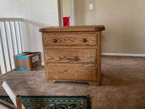 Solid wood dresser for Sale in Commerce City, CO