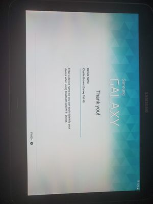Samsung Tablet 16GB for Sale in Chesapeake, VA